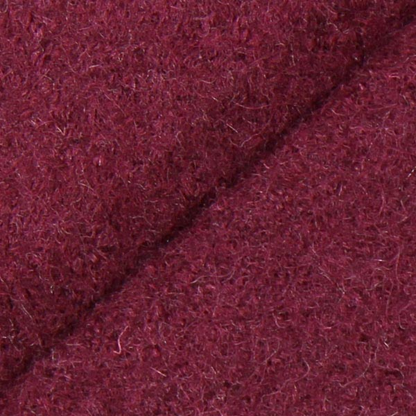Walkloden – purpur