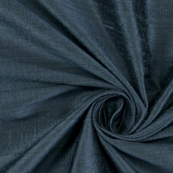 Soie dupion – gris bleu