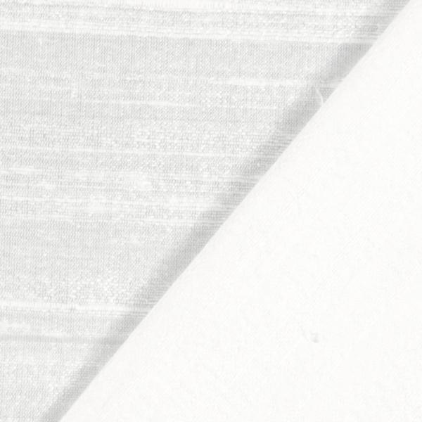 Soie dupion – blanc