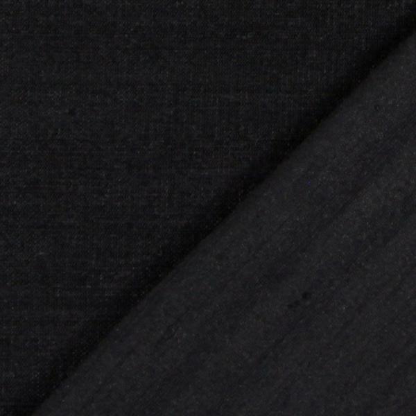 Soie dupion – noir