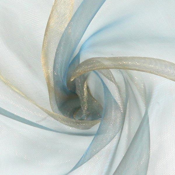 Organza – bleu acier