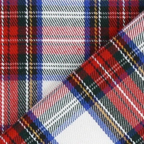 Écossais Classic – blanc