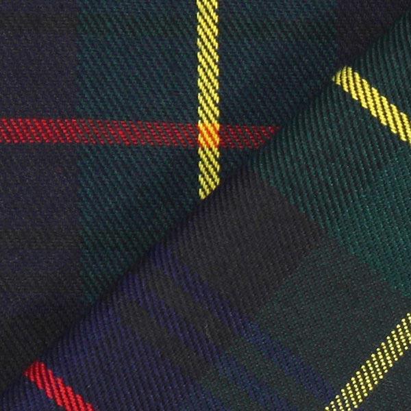 Écossais Basic – vert foncé/rouge