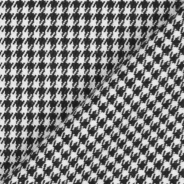 Stretch costume Pied-de-poule – noir/blanc