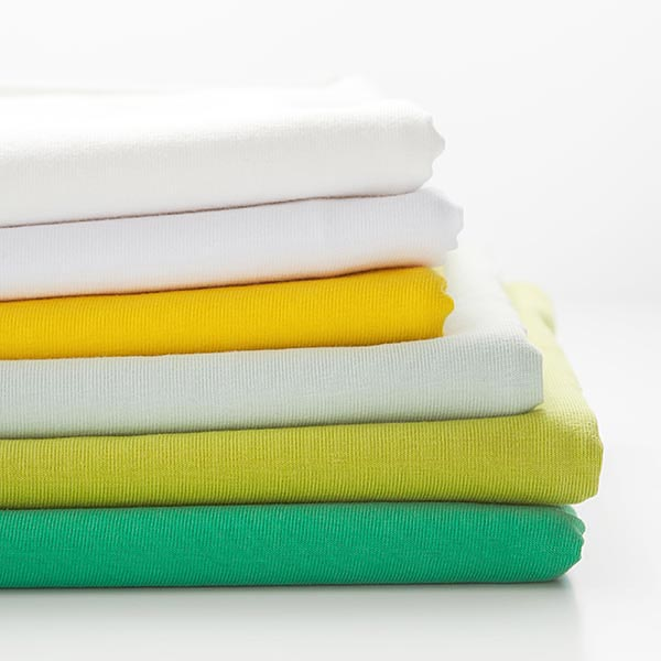 Jersey coton – vert menthe