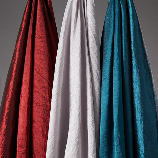 Tissu taffetas Crash – rouge bordeaux