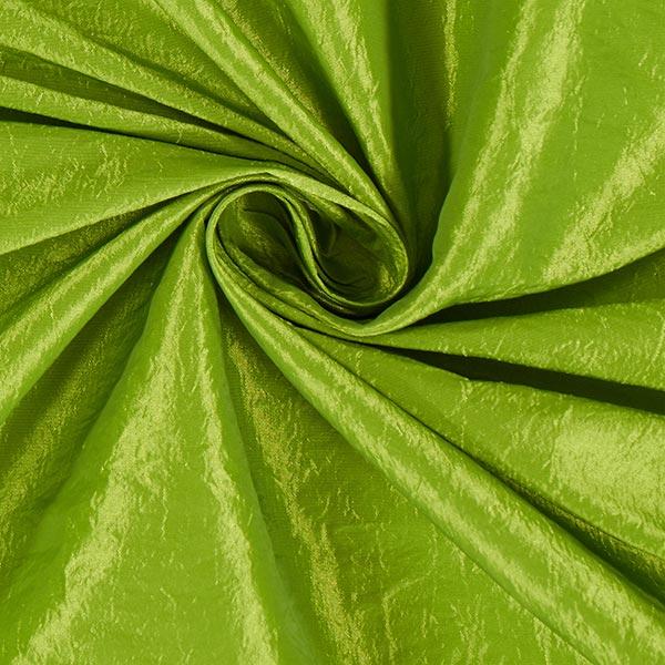 Tissu taffetas Crash – vert pomme