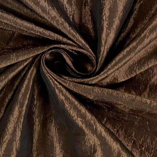 Tissu taffetas Crash – marron