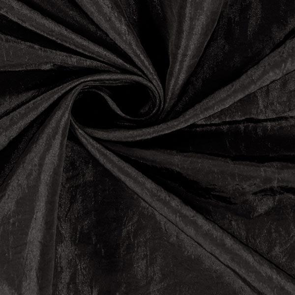 Tissu taffetas Crash – noir