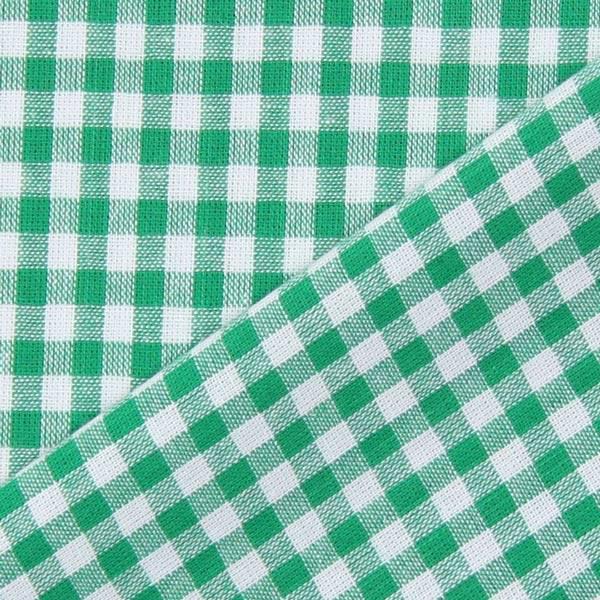 Baumwollstoff Vichy - 0,5 cm – grün