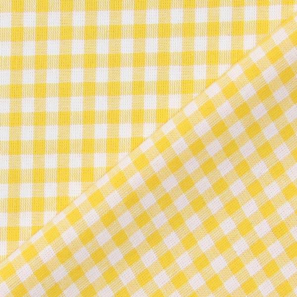 Tissu en coton Vichy - 0,5 cm – jaune