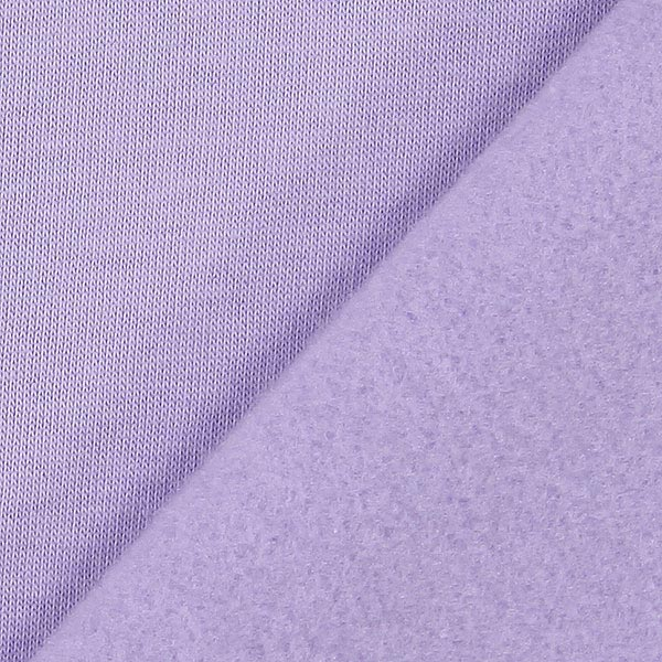 Sweatshirt rugueux – mauve