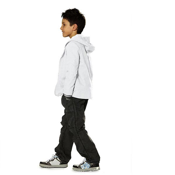 Sweatshirt rugueux – blanc