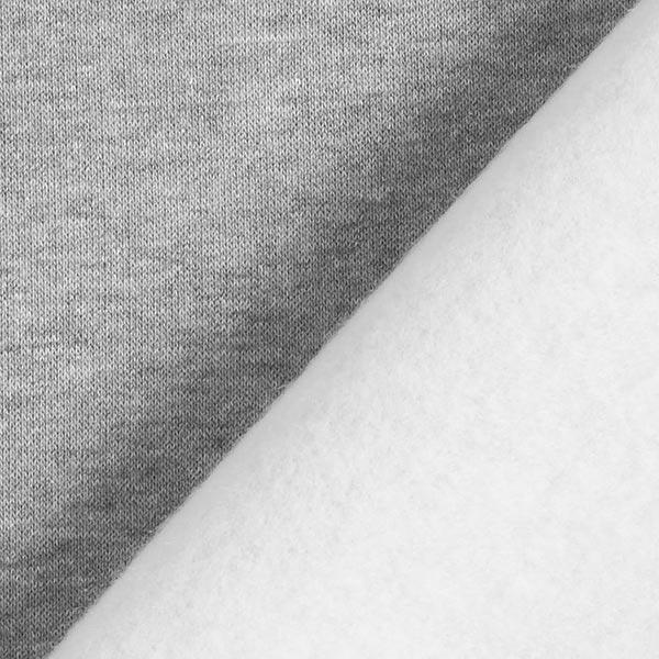Sweatshirt rugueux – gris clair