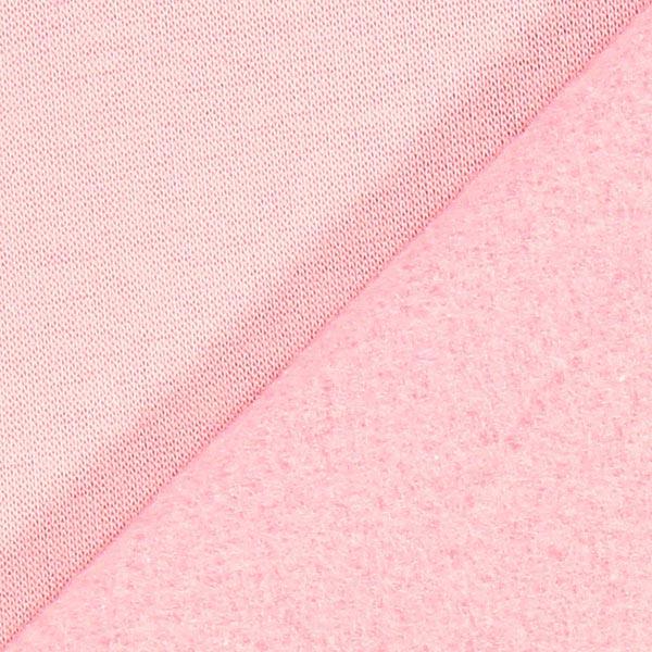 Sweatshirt rugueux – rose