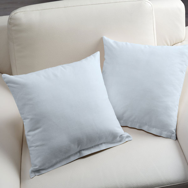 Tissu en coton Molton Uni – bleu bébé