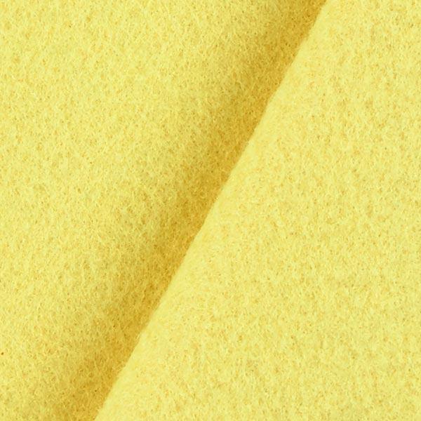 Filz 90cm / 1mm stark – hellgelb