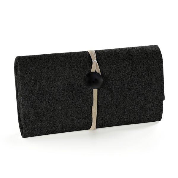 Filz 90cm / 1mm stark – schwarz