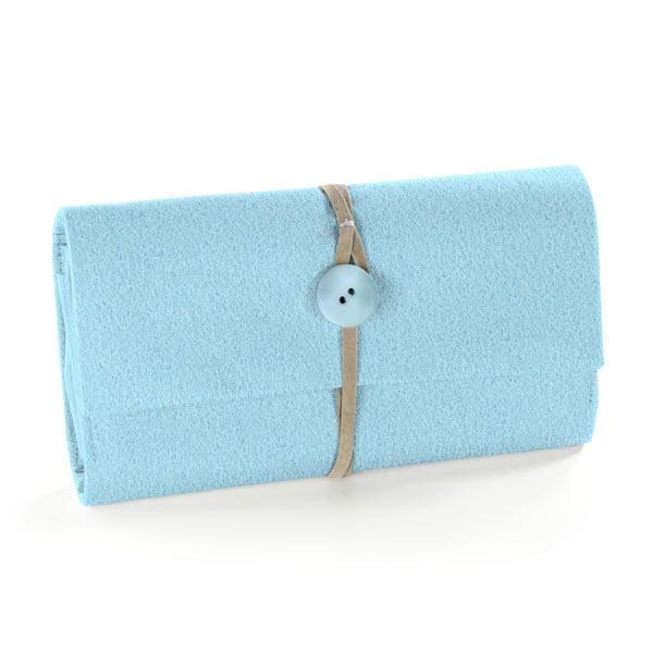 Feutrine 90cm / épaisseur de 3mm – bleu clair