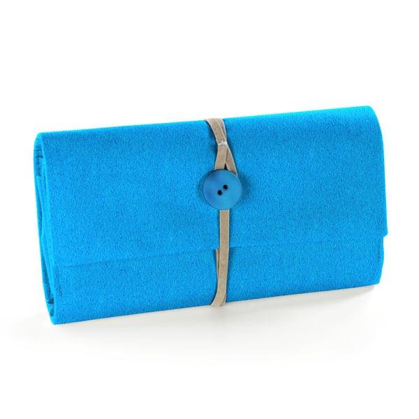 Feutrine 90cm / épaisseur de 3mm – bleu