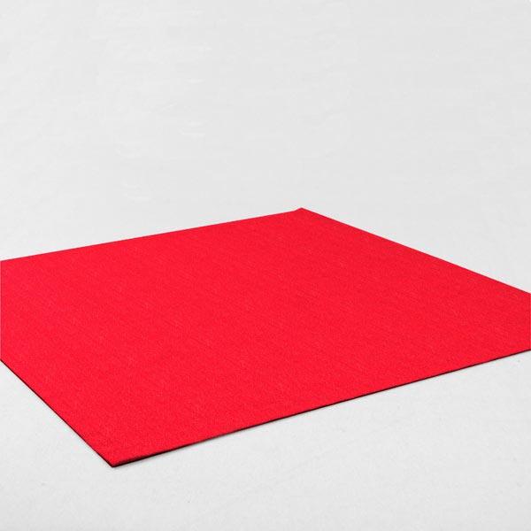 Filz 90cm / 3mm stark – signalrot