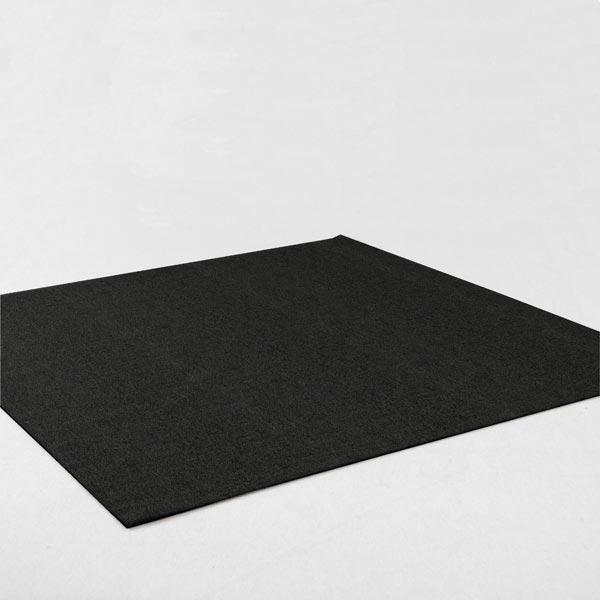 Filz 90cm / 3mm stark – schwarz