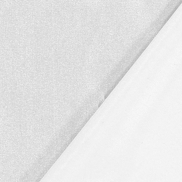 Tissu de décoration ultra léger – argent