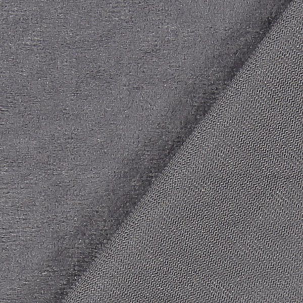 Micro suédine Alova 6 – gris perle