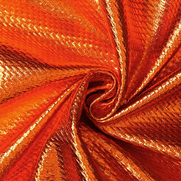 Jersey feuille Structure – orange