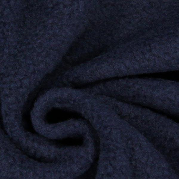 Tissu polaire - bleu marine