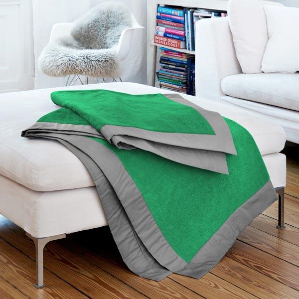 Tissu polaire – vert