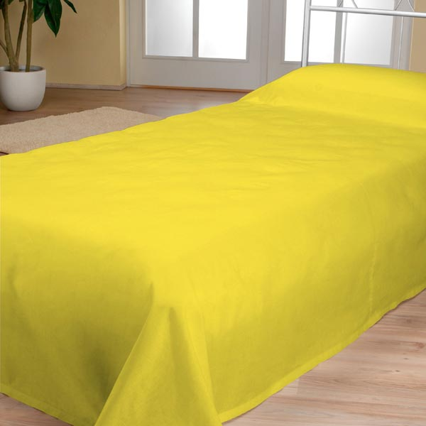 Tissu polaire - jaune
