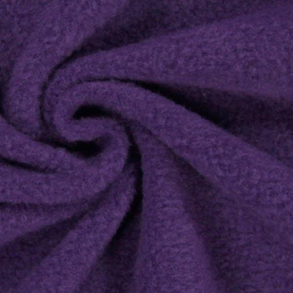 Tissu polaire - prune