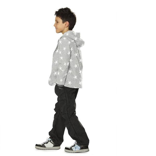 Sweatshirt tampon étoiles grand 4