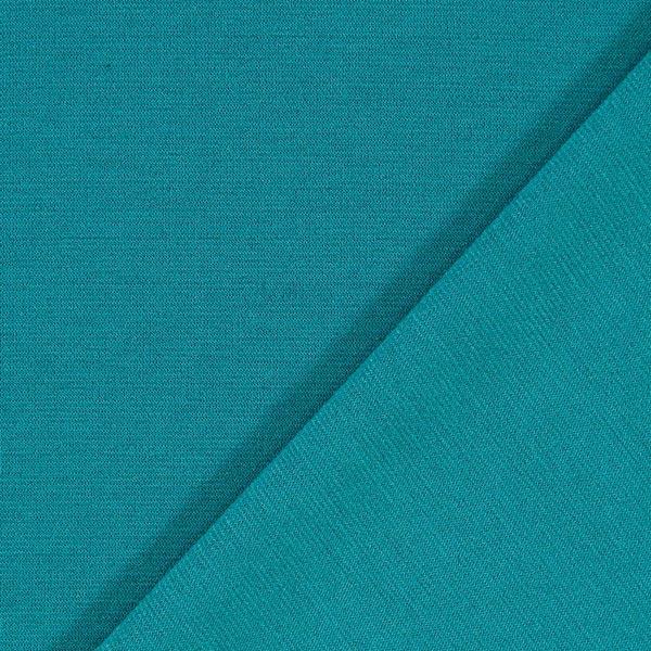 Jersey romanite classique - turquoise
