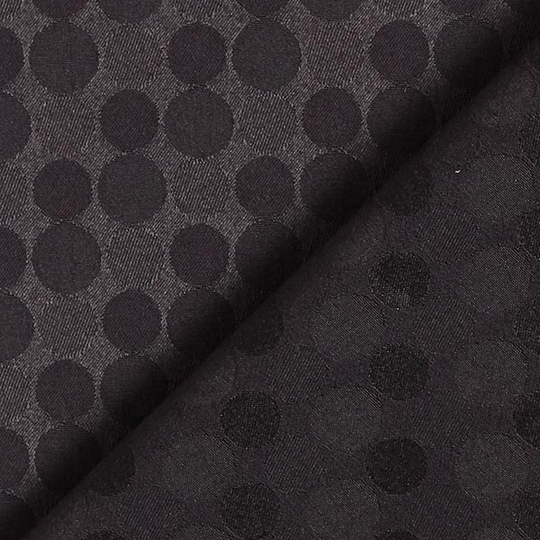 Jacquard d'habillement Points – noir