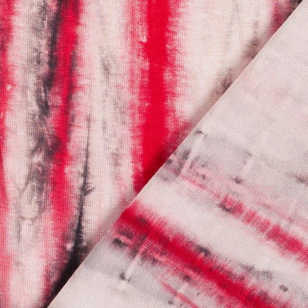 Jersey viscose Batik – rose/rouge