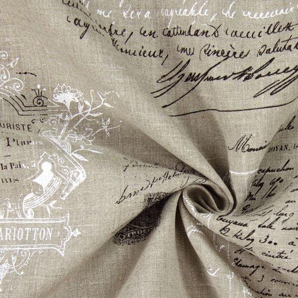 Leinen Manuscript 1 - natur