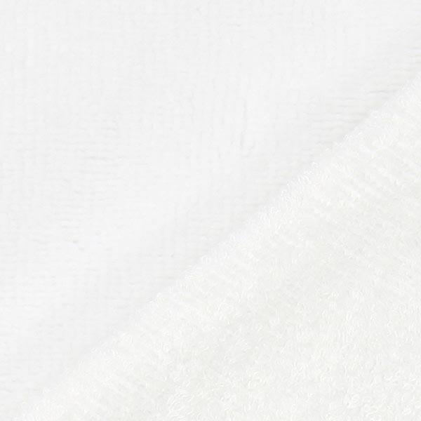Tissu éponge Bambou  – blanc