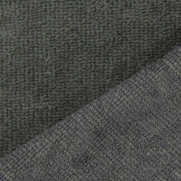 Tissu éponge Bambou  – gris foncé