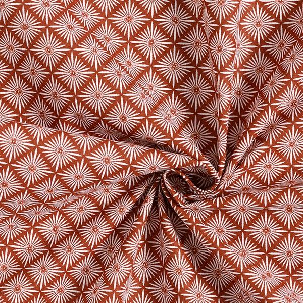 Tissu en coton Cretonne Oriental – terre cuite