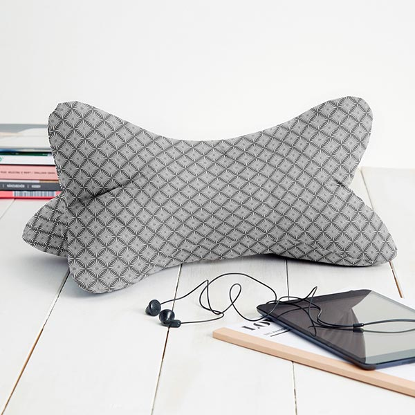 Tissu en coton Cretonne Oriental – gris