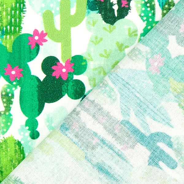 Cretonne Cactus – vert menthe