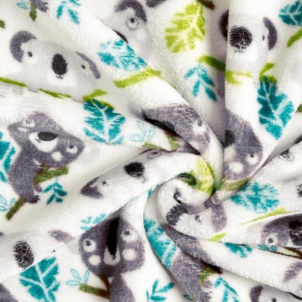 Polaire bien-être Double face Koala – écru/gris