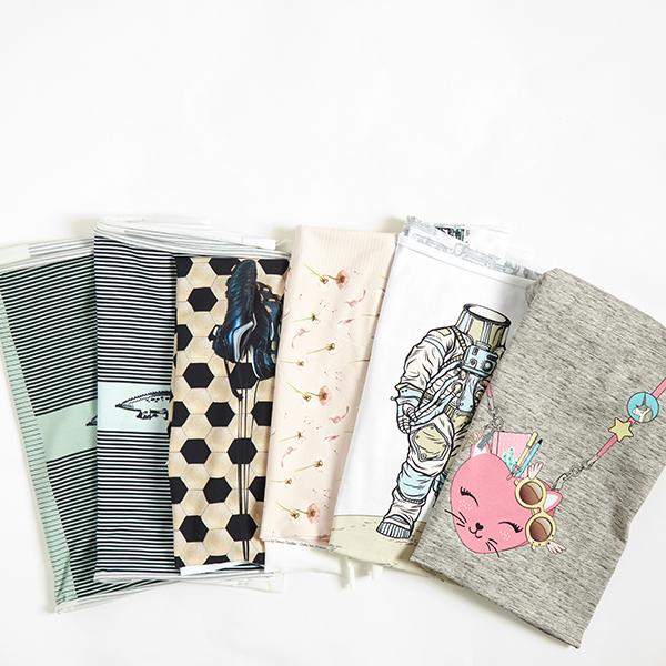 Jersey coton Panel Sac pour chats – gris clair