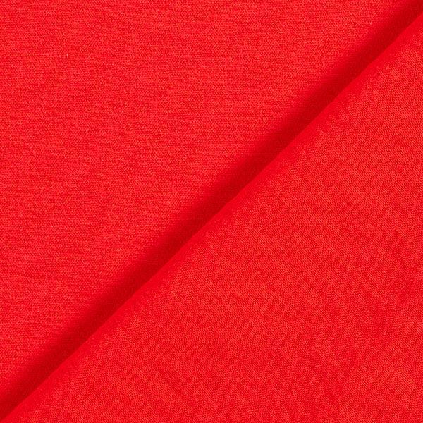Tissu en crêpe mélange viscose – rouge vif