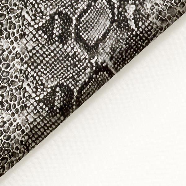 Imitation cuir serpent – anthracite