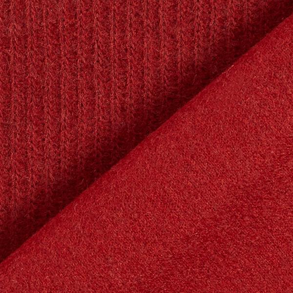 Tissu maille aspect côtelé – rouge bordeaux