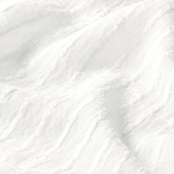 Tissu pour chemisier rayures horizontales stretch – blanc