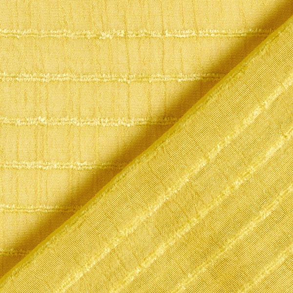 Tissu pour chemisier rayures horizontales stretch – curry